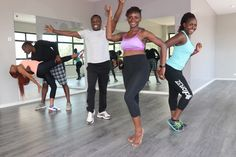 Dance class requires no fitness level. Just loosen up and live in the moment