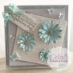 Shop here at Chloes Creative Cards for excellent value Cut and Emboss by Chloe Folder & Dies Blooming Daisies at just You will also find a selection of other wonderful here too. Chloes Creative Cards, Stamps By Chloe, Z Cards, Daisy Petals, Crafters Companion Cards, Die Cut Cards, Stamping Up Cards, Mothers Day Cards, Flower Cards