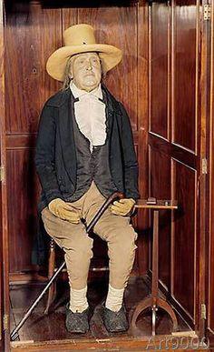 Unbekannt - Bentham, Jeremy: Embalmed Body as Exhibited at University College