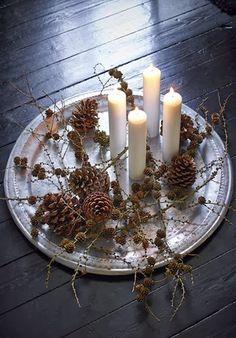Candle lit Christmas