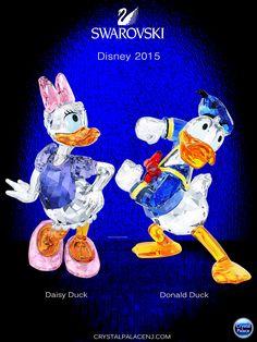 Swarovski Disney Donald Duck and Daisy 2015