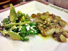 Medemblik - Op het menu voor vandaag hebben wij eens een heerlijk visgerecht geplaatst, namelijk kabeljauw met groene druiven. Op het eerste gezicht een vreemde combinatie maar als u het proeft mer...