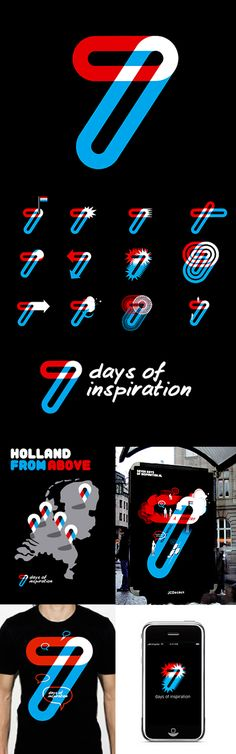 Corporate Design, ID, Logo, Poster, App, Outdoor Media, 7 Days of inspiration, by Lava Graphic Design