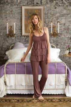 Sunday Lounging in Jessica Simpson Maternity
