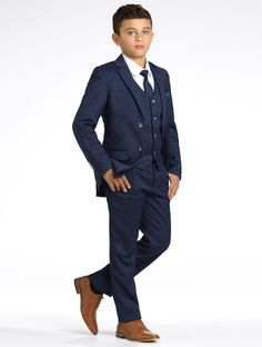 boys navy page boy outfit
