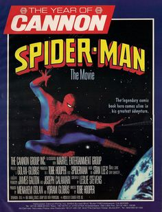 The Spider-Man movie that never was.