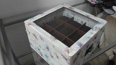 Caja en madera para relojes  Caja en madera para relojes