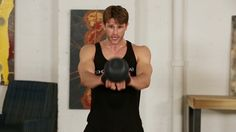 Kettlebell Swing // Quiet Exercises You Can Do In Your Apartment