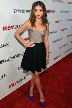 Sarah Hyland at Teen Vogue's 10th Annual Young Hollywood Party