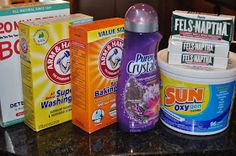 Teaching Two Stinkers: Homemade Powder Laundry Detergent