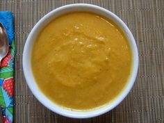 Healthy roasted butternut squash #soup. #gluten free and #vegan. With coconut, cardamom and ginger.