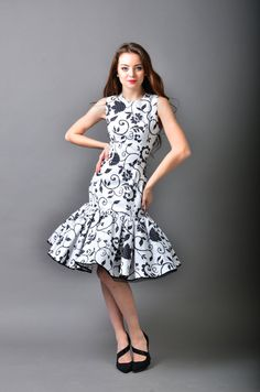 Dana Dress by LauraGalic on Etsy, $120.00