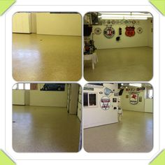 6 car garage all done with polyurea!