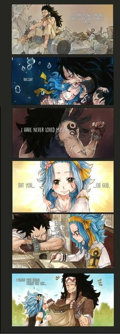 Fairy tail Gajeel x Levy. It's not a sin to fall in love by Rboz Fairy Tail Levy, Fairy Tail Ships, Rog Fairy Tail, Anime Fairy Tail, Fairy Tail Guild, Fairy Tail Comics, Fairy Tail Couples Comics, Fairy Tail Edolas, Manga Anime