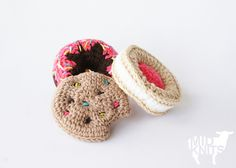 Ravelry: Sweet Treats Ornament Collection (2015029) pattern by Erin Black