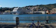 Scoprire il #Mediterraneo con #MSC in sella alla propria bici » Pazzo per il Mare