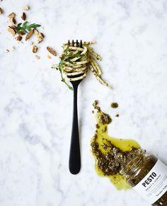 The flavour combination of the three different pestos are spot on 🙌 Do you have a favourite? Reggio Emilia, Ethnic Recipes, Blog, Pesto, Instagram, Blogging