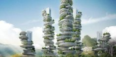 Sky greens. Low carbon hydraulic water-driven, tropical vegetable urban vertical farm, using green urban solutions to achieve enhanced green sustainable production of safe, fresh and delicious vegetables, using minimal land, water and energy resources.