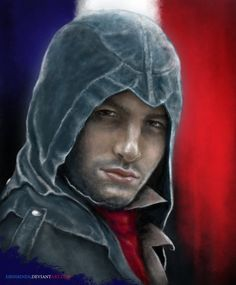 Arno Dorian by Blu-Oltremare on DeviantArt Assassins Creed Series, Assassins Creed Unity, Arno Dorian, Assassin's Creed, The Darkest, Deviantart, Artwork, Gaming, Beautiful