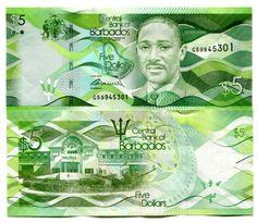 P-77 2013 $50 Barbados UNC /> New Colorful Design