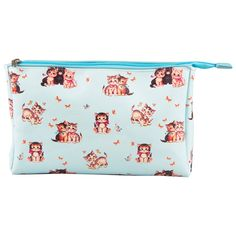 Retro Kitten Wash Bag