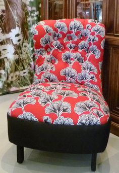 Restored Deco Button Backed Bedroom Chair by acolourfullife1, $390.00