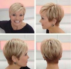 Cute short cut with highlights
