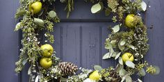 Make these wreaths from reusable materials you already have
