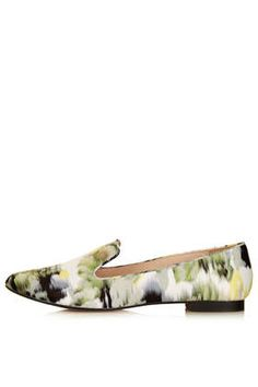 SAVANNAH Watercolour Slippers - Flats - Shoes