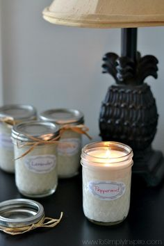 Easily make your ownhomemade soy candlesusing just 2 simple ingredients - soy wax flakes and the essential oil of your choice. Enjoy 50% longer burning with soy candles and less toxins in the air.