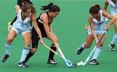 Black Sticks Test Against Argentina - Women's Field Hockey