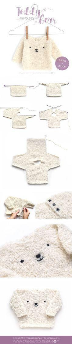 Aprende a tejer este adorable |