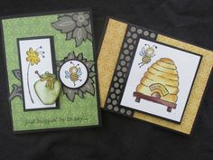 Stampin-Up-Just-Buzzin-Bumble-Bee-Hive-Honey-Pot-St-Patricks-Spring-Rubber