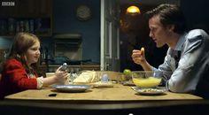 Les Fish Fingers et Custard du Docteur Who et d'Amélie Pond, recettes des bâtonnets de poisson maison et de la crème custard !