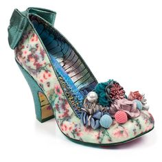 Buy Irregular Choice shoes, boots, handbags and jewellery online. View the biggest and best Irregular Choice collection here. Irregular Shoes, Irregular Choice Heels, Pretty Shoes, Cute Shoes, Me Too Shoes, Quirky Shoes, Unique Shoes, Floral High Heels, Floral Shoes