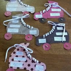 Rainy afternoon project roller skating party sweet 16 invitations