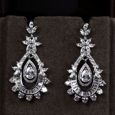 Zircon Earring JHZ-258 USD46.03, Click photo to know how to buy / Contact me for discount, follow board for more inspiration