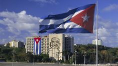 Cuba flag in Havanna (picture alliance/Robert Harding World Imagery)