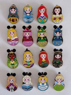 Disneyland Nesting Dolls pins!