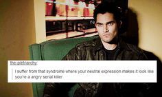 This is why everyone thought you killed people Derek! Teen Wolf Fan Art, Teen Wolf Dylan, Teen Wolf Funny, Teen Wolf Memes, Dylan O'brien Funny, Dylan Sprayberry, Cody Christian, Wolf Love, Tyler Hoechlin