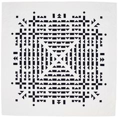 Coal quilt by Meg Callahan.  Black & White Twelve Quilts.