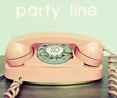 Princess phones and party lines, remember them well.
