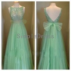 New Arrival A-line Straps Sleeveless Floor-length Tulle Fashion Cheap Short Prom Dress / Evening Dress 2014 With Sequins