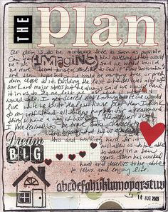 "The plan ""art journal"" | Flickr - Photo Sharing!"