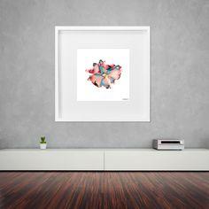 Photo of Peony Flower  Fine Art Print  by NatasaPetrovaDias