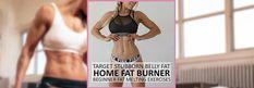 🏠 Home Fat Burner Workout! Crazy Effective for Belly Fat: Women's Beginner Circuit!