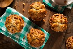 The secret is out! We're drooling over this fresh take on Morning Glory muffins.