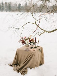 table decorated for Love Story