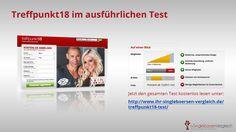 http://www.ihr-singleboersen-vergleich.de/treffpunkt18-test/ Treffpunkt18 - das Erotik-Dasing-Portal für besondere Stunden. Aktive Mitglieder und ein ansprechendes Design zeichnen dieses Portal aus. Wie seriös ist diese Website? Mehr im ausführlichen Test.
