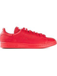 raf simons x adidas stan smith: quelle scarpe rosse: adidas x raf simons